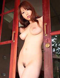 Model ai sayama in breast island