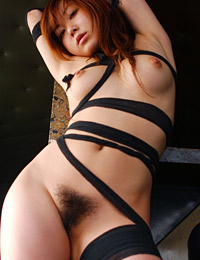 Model yumi aida in breast bound ii