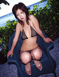 Model aki hoshino in great adventure 3