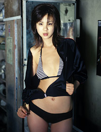 Model aki hoshino in great adventure 4
