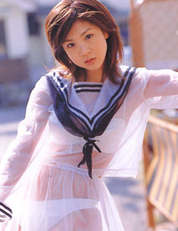 Model aki hoshino in h school 2